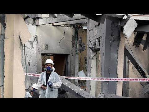 Israel: Rakete trifft Wohnhaus in der Nähe von Tel Av ...