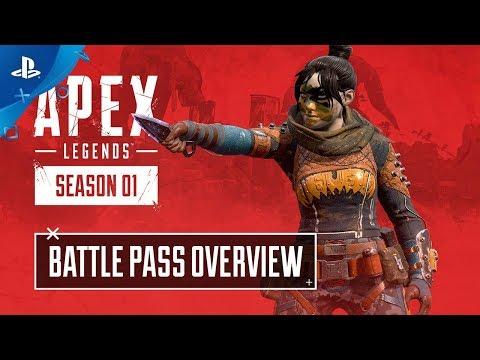 Apex Legends: Season 1 - Battle Pass Trailer | PS4 - Thời lượng: 81 giây.