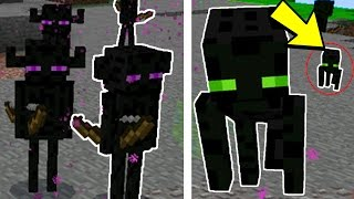 New Boss Mobs in Minecraft Pocket Edition (Farlanders Mobs Addon)