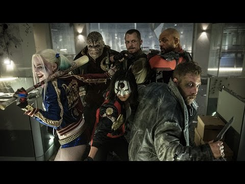 'Suicide Squad' trailer introduces the worst. heroes. ever.