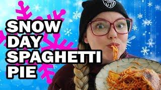 Snowday Spaghetti Pie - Corinne Vs The Cold by ThreadBanger