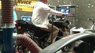 7. Kawasaki Versys dyno'd
