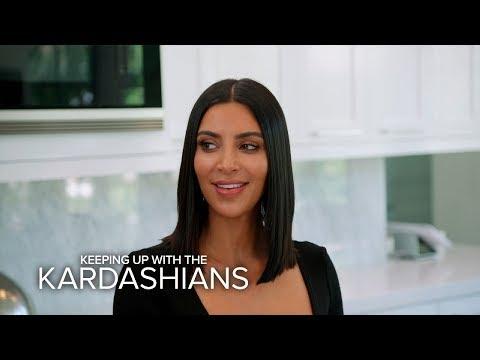 KUWTK   Khloe Kardashian Distracts Kim While Kourtney Does What?!   E!