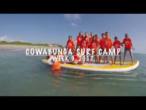 Cowabunga Surf Camp July 31 - August 4, 2017