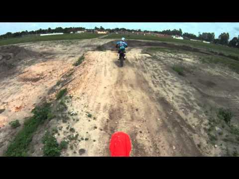 treino motocross em sape tombo de alexandre