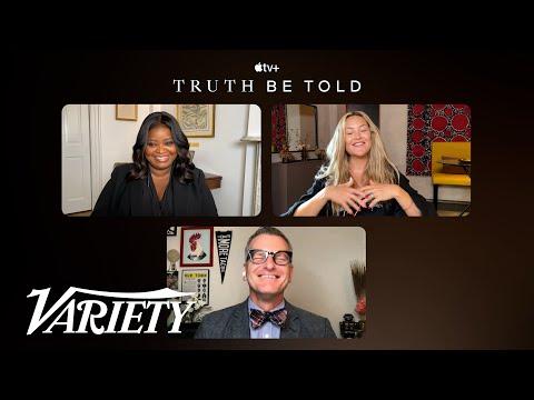 Octavia Spencer and Kate Hudson Talk 'Truth Be Told' Season 2