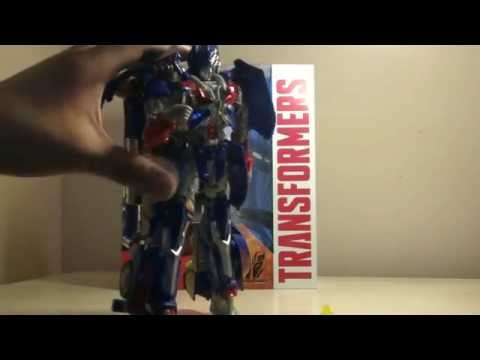 Transformers Age of Extinction Leader Class Optimus Review