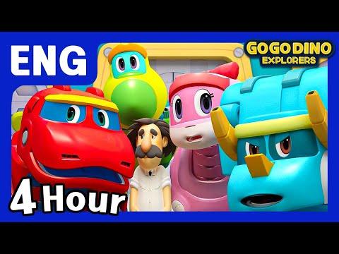 🌟 [Season 3] GoGo Dino Explorers ENG All Episodes Compilation 🌟 / Marathon / dinosaur / GOGODINO