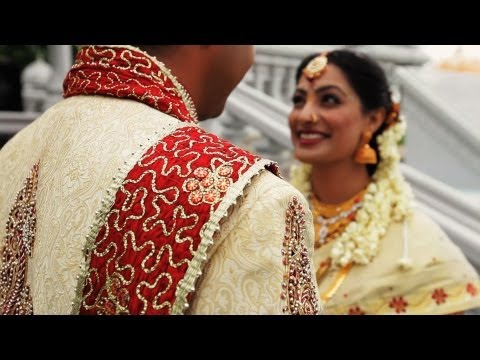 chicago indian wedding - Same Day Edit of an Indian wedding at Hindu Temple of Greater Chicago (Lemont, Illinois), Drury Lane (Oak Brook, Illinois), and Waterford Banquet Center (Elm...