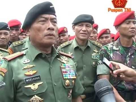 Panglima TNI Sidak ke Grup 1 Kopassus