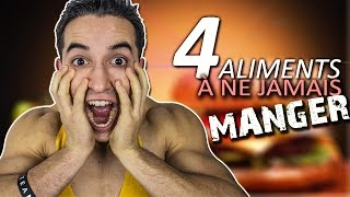 Video 4 ALIMENTS À NE JAMAIS MANGER ! MP3, 3GP, MP4, WEBM, AVI, FLV November 2017