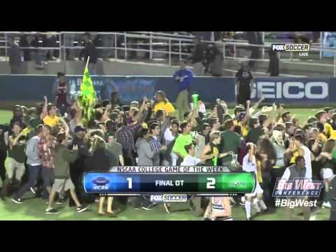 Cal Poly Men's Soccer Produces Historic Win at UC Santa Barbara (Oct. 19, 2012)