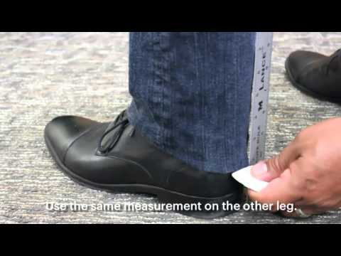 zTailors Alteration Marking - Shorten Pant Hem