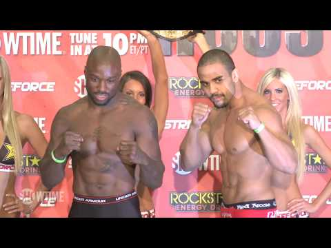 Strikeforce Houston: Weigh-In Highlights - Bobby Lashley, Tim Kennedy, King Mo, Rafael Feijao, Jacar