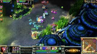 (HD062) 5c5 ALS vs Dignitas part -1 League of Legends Replay [FR]
