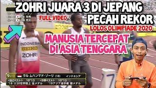 Download Video Full Video Reaksi Zohri Lolos Olimpiade 2020 Pecahkan Rekor Nasional & Asia Tenggara MP3 3GP MP4