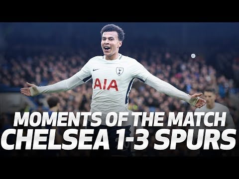 Video: MOMENTS OF THE MATCH | Chelsea 1-3 Spurs