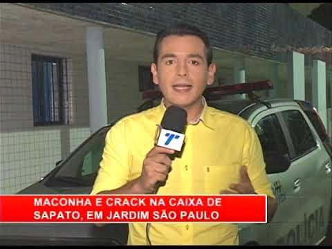 [RONDA GERAL] Maconha e crack na caixa de sapato, em Jardim São Paulo