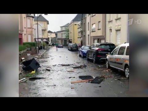 Разрушительные смерчи прошлись сразу по нескольким европейским странам