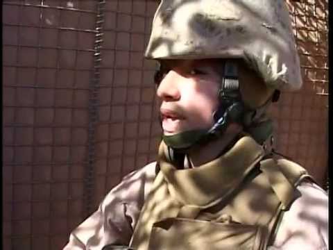 Female Marine Lioness Security Checkpoint – Iraq