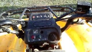 6. Honda recon 250