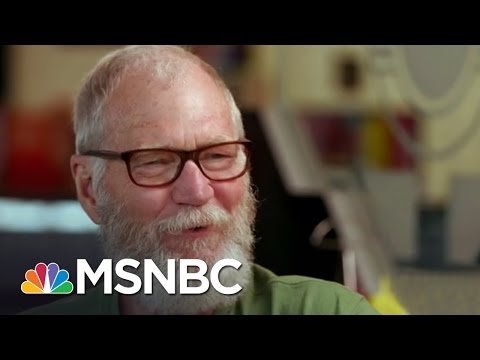 David Letterman: I Couldn't Care Less About Late Night TV | MSNBC