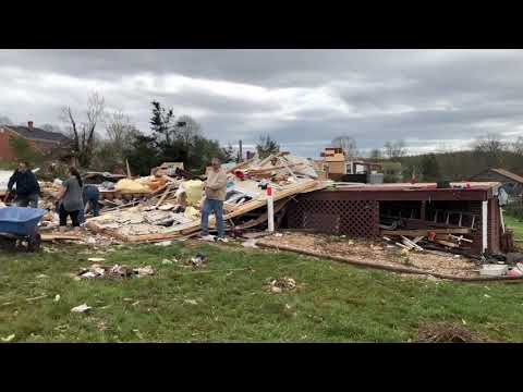 American Red Cross responds to support residents impacted by tornado in Amherst Virginia