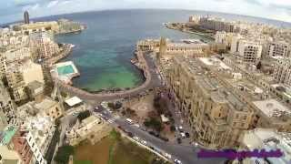 Sliema Malta  city photos gallery : Malta St,Julians To Sliema