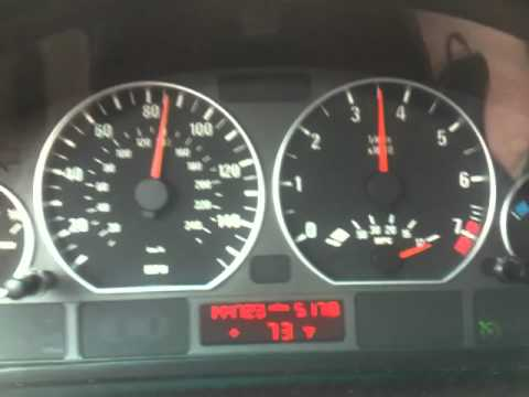 E46 BMW ZHP with 3.46 diff 6th gear 80-100mph pull