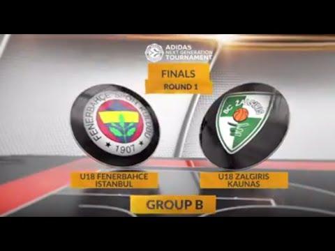 EB ANGT Finals Highlights: U18 Fenerbahce Istanbul-U18 Zalgiris