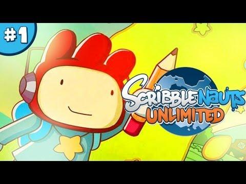 ScribbleNauts: Unlimited – Let's Play / Playthrough / Walkthrough – Part 1