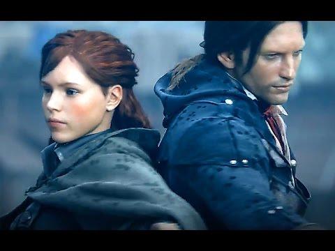 Assassin's Creed: Unity — Спасая девушку Тамплиера! (HD) Кинематографический трейлер