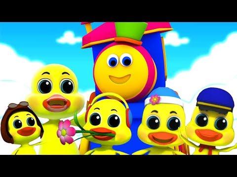 bob den zug   fünf kleine enten   Kinderreime   Bob The Train   Five Little Ducks   Baby Rhymes