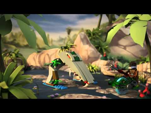 Vidéo LEGO Chima 70112 : La morsure Croco