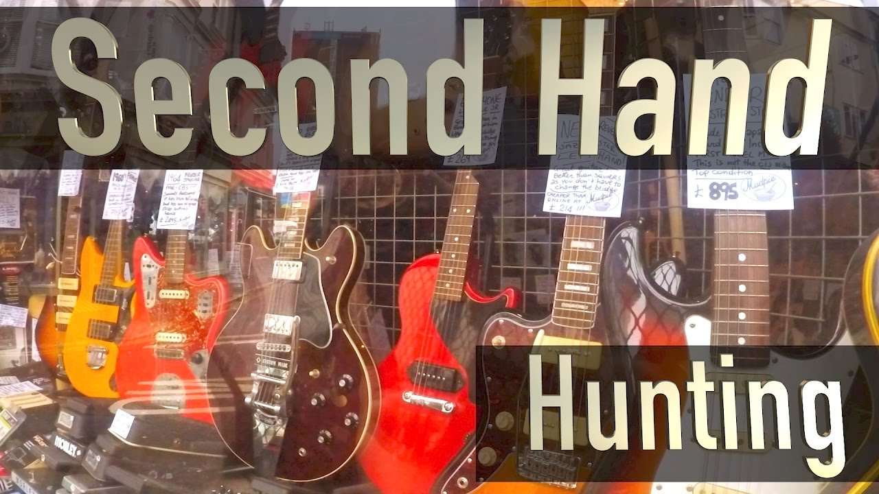 Second Hand Guitar Hunting