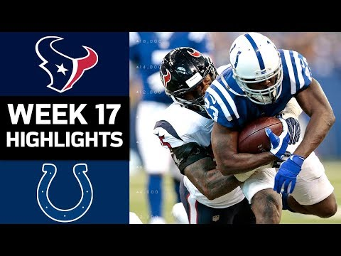 Video: Texans vs. Colts | NFL Week 17 Game Highlights