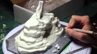 Br'er Bear's Cave Sculpture Time-lapse (Chad Dewey)