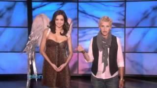 Ellen Teaches Supermodel Miranda Kerr How to be Sexy
