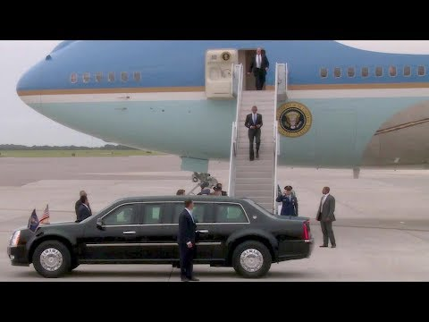 President Obama Arrives at MacDill AFB in Air Force One (Sep, 2014)