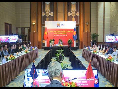 Các Bộ trưởng kinh tế ASEAN họp ứng phó đại dịch Covid-19 trực tuyến