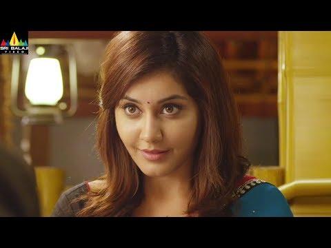 Oohalu Gusagusalade Movie Srinivas Avasarala Flirting with Rashi Khanna   Sri Balaji Video