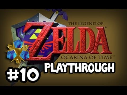 Zelda: Ocarina of Time: OFF TO SEE THE GREAT FAIRY Playthrough w/ Ze - Part 10 (Li… видео