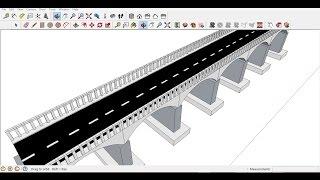 Video Google sketchup  simple bridge tutorial within 10 minutes MP3, 3GP, MP4, WEBM, AVI, FLV Desember 2017