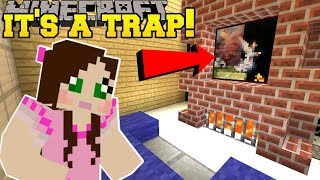 Video Minecraft: THIS PAINTING IS A TRAP!!! - A HOLE NEW WORLD BOOK ANNOUNCEMENT! - Custom Map MP3, 3GP, MP4, WEBM, AVI, FLV Maret 2018