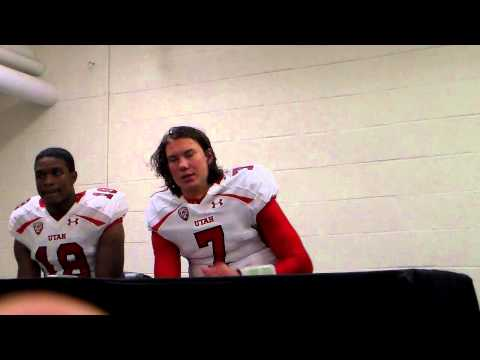Travis Wilson Interview 10/21/2012 video.