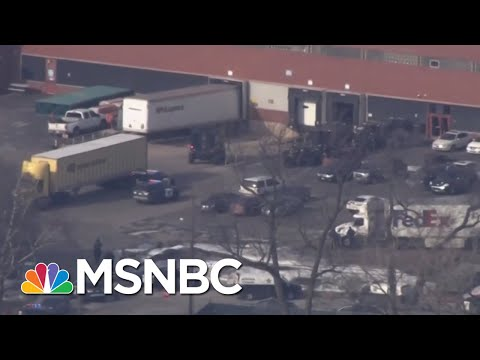 Active Shooter Reported In Aurora, Illinois, Manufacturing Company | Velshi & Ruhle | MSNBC