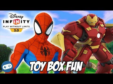 Family quotes - Spiderman and Hulkbuster Disney Infinity 3.0 Toy Box Fun Gameplay