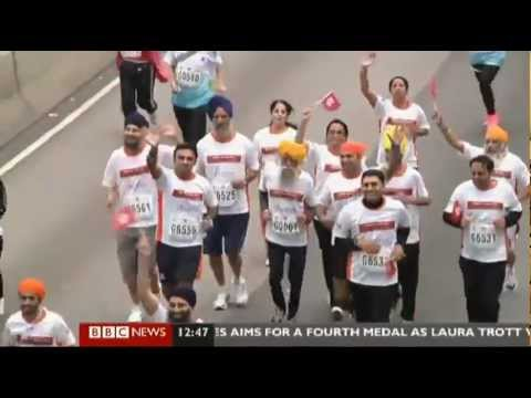 'Oldest marathon man' Fauja Singh runs last race (10km) in Hong Kong