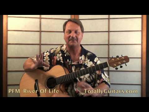 , title : 'PFM - River Of Life Guitar Lesson Preview'
