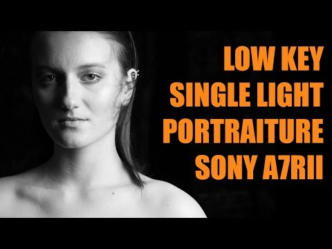 Low Key single light portraits AT MIDDAY
